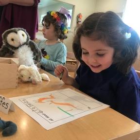 Starting their animal books