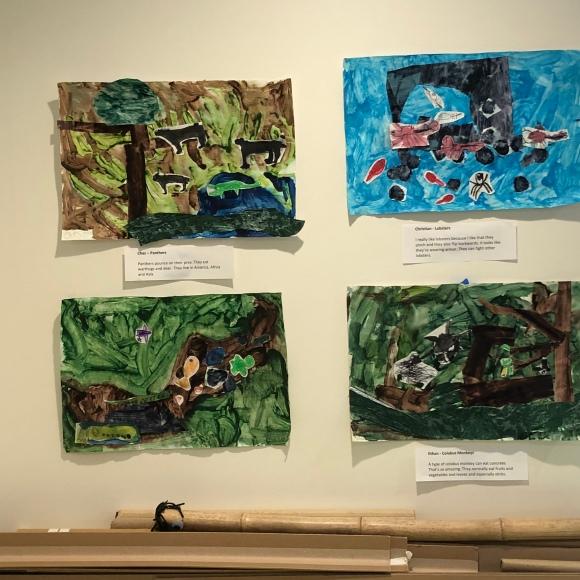 Animal project murals