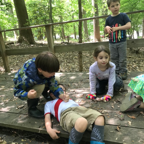 Improv in the woods